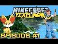 Minecraft: Pixelmon - Эпизод 1 - Покемон, я выбираю тебя! 🔥