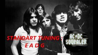 AC/DC - Squealer (Bass Line & Tabs)