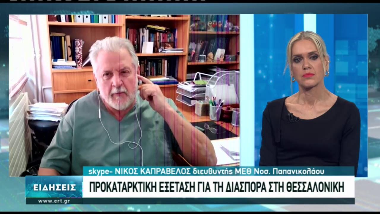 Ν. Καπραβέλος: Ευθύνες για την έξαρση του δεύτερου κύματος το Νοέμβριο   08/01/2021   ΕΡΤ