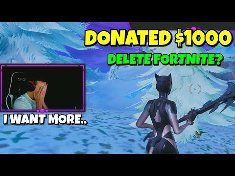 i gave $$$ to twitch streamers until they DELETED fortnite... (emotional)