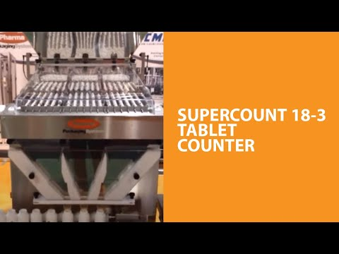 SuperCount 18-3 tablet counter - PPS SuperCount 18-3 Tablet Counter - sold by Package Devices LLC