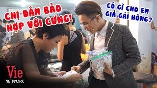 Huỳnh Lập hào hứng khi được Việt Hương tặng trang sức để giả gái sau hậu trường | BTS CSBA