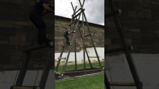 2017 Mock Prison Riot/Tactical Training Center Obstacle Course. Moundsville, WV