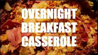 Overnight breakfast casserole    #Crocktober    #ytmm collab    Recipe