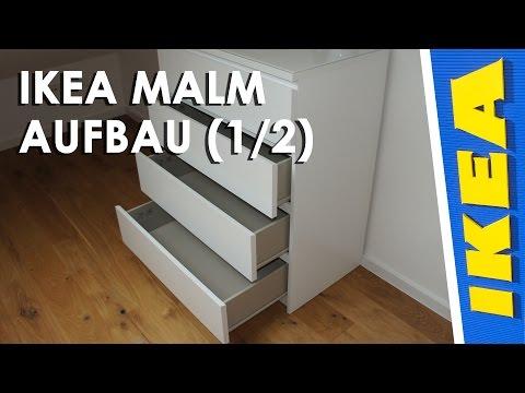 Ikea MALM Kommode Aufbau (1/2)