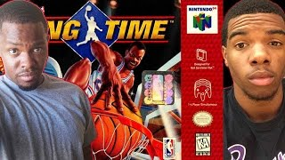 UNBLOCKABLE DUNKS! - NBA Hangtime N64   #ThrowbackThursday ft. Juice