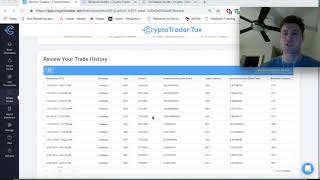CryptoTrader.Tax Demo - How to file your crypto taxes