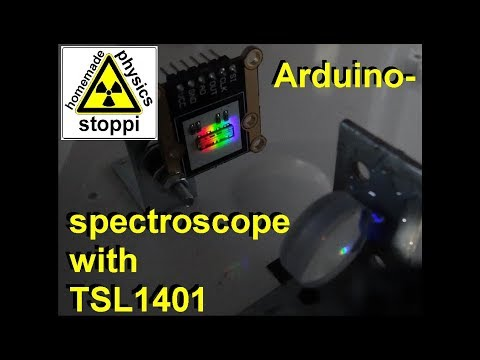 Arduino Spectroscope with TSL1401