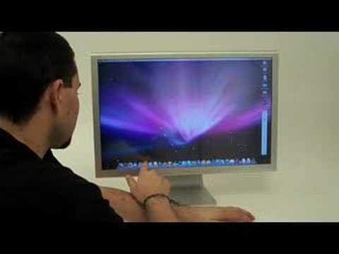 "Apple Cinema Display touchscreen de 27"" de Troll Touch"