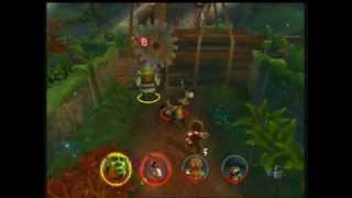 Shrek 2 (Xbox) 100% 2 player walkthrough