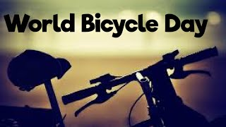 World Bicycle Day 2020/world bicycle day quotes / Bicycle day status /3rd June