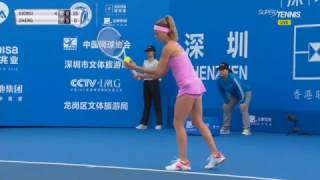 Camila Giorgi incredible winner in Shenzen Open 2017