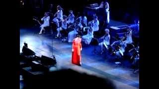 Björk, Vulnicura tour, Roma - Stonemilker - live 29/07/2015.