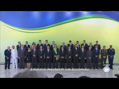 """<font color=""""red"""">AO VIVO</font> - Acompanhe a cerimônia de posse presidencial - agora, pronunciamento no Planalto"""