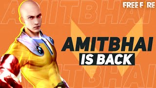 Free Fire Live With AmitBhai    Rank Push Up    Desi Gamers