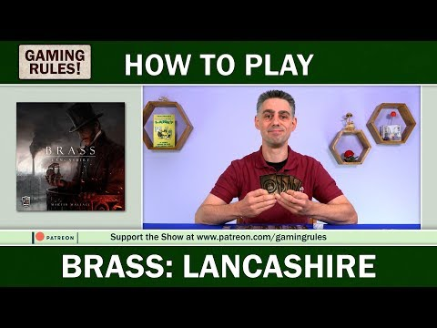 Brass: Lancashire - Official Gaming Rules! How-to-Play video