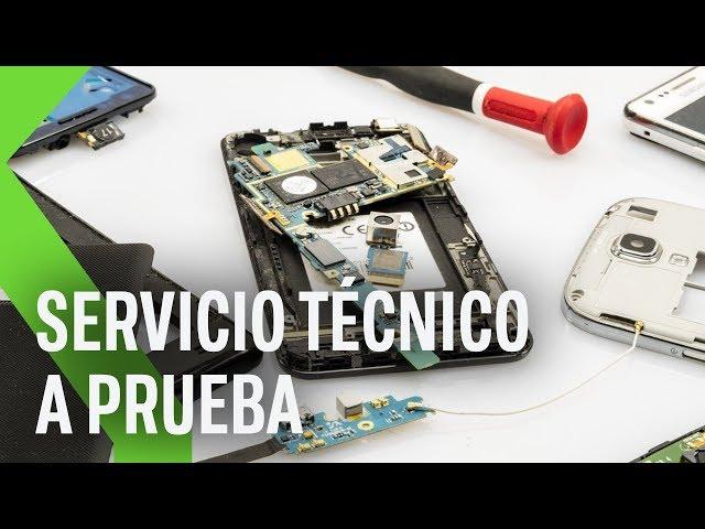 Apple, Samsung, Xiaomi... los principales Servicios técnicos a prueba