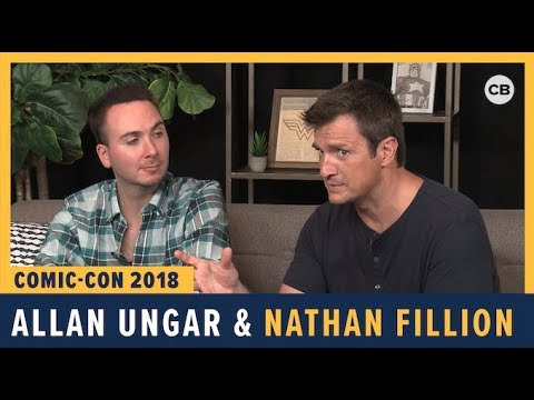 Allan Ungar and Nathan Fillion – SDCC 2018 Exclusive Interview