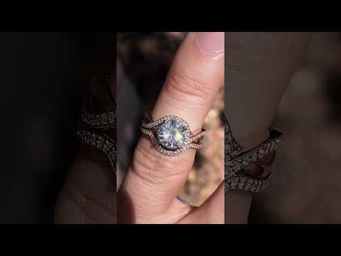 enr150-F1 w/Matching Diamond Band