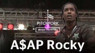 "A$AP Rocky | ""Goldie"" | Pitchfork Music Festival 2012 | PitchforkTV"