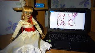 СТРАШНЫЕ ИСТОРИИ про куклу Аннабель:ТИЛИ-ТИЛИ-БОМ •Nepeta Story