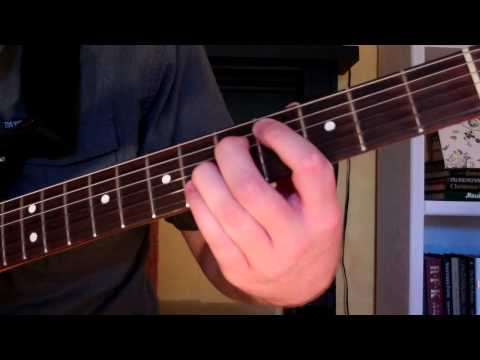How To Play the C#-5 Chord On Guitar (C sharp diminished 5th)