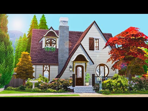 Spellcaster's Cottage ✨🔮 || The Sims 4 Realm of Magic + Base Game Only!: Speed Build