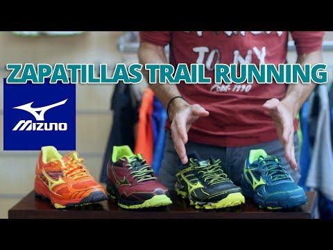 Guía de zapatillas de trail running: Mizuno AW 2017