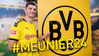 Borussia Dortmund sign Thomas Meunier | #Meunier24