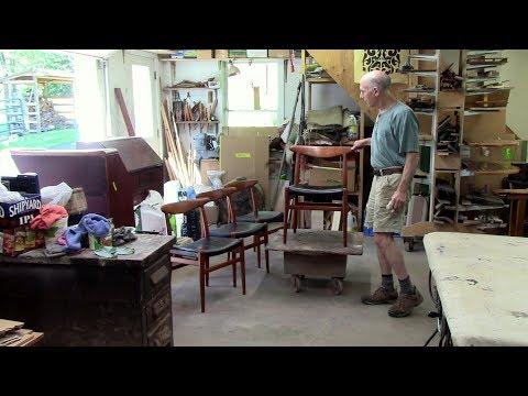 Restoring Midcentury Modern Hans Wegner Teak Chairs - Thomas Johnson Antique Furniture Restoration