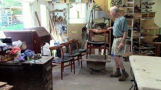 Restoring Midcentury Modern Hans Wegner Teak Chairs