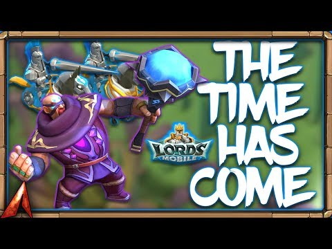 Using My New Wonder Battle Research Vs Mythic Champ! Lords Mobile