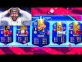 OMG INSANE HIGHEST RATED EPL TOTS DRAFT CHALLENGE!! FIFA 19 Ultimate Team Draft