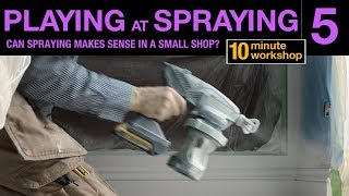 Part 2 Graco Ultra Handheld Airless Sprayer, How to spray a
