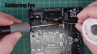 How to Solder (Fpv Racing)