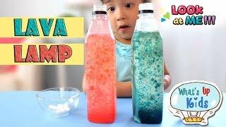 ลาวาแลมป์- ทดลองวิทยาศาสตร์สำหรับเด็ก / Fun Science Experiment Lava Lamp