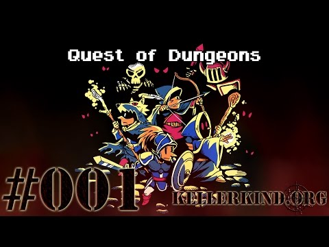 Quest of Dungeons #1 – Der Zauberer hat FEUER! ★ Let's Play Quest of Dungeons [HD|60FPS]