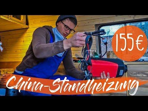 CHINESISCHE STANDHEIZUNG FÜR 155€ TESTEN | Dieselheizung einbauen und testen