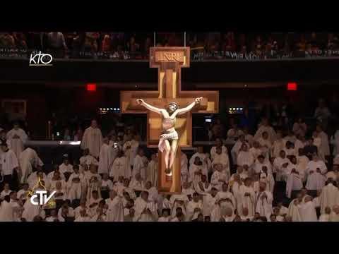 Messe du Pape François au Madison Square Garden de New York