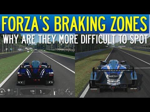The Real Reason Forza's Braking Zones Are So Hard To Spot! (Gran Turismo Sport Comparison)
