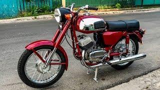 ЯВА 350, о которой мечтали: запуск рукой, полная реставрация Jawa 634