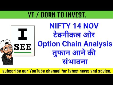 14 November Nifty Technical Analysis And Option Chain Analysis