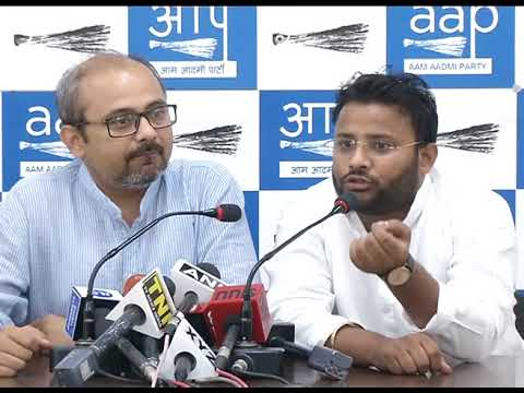 AAP LOP Kuldeep Asks for the Enquiry on the Party Given by East Delhi Mayor