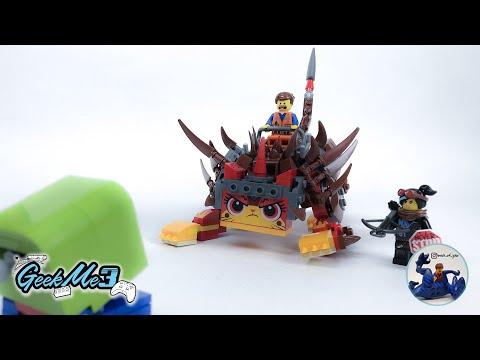 Vidéo LEGO The LEGO Movie 70827 : Ultrakatty et la guerrière Lucy !