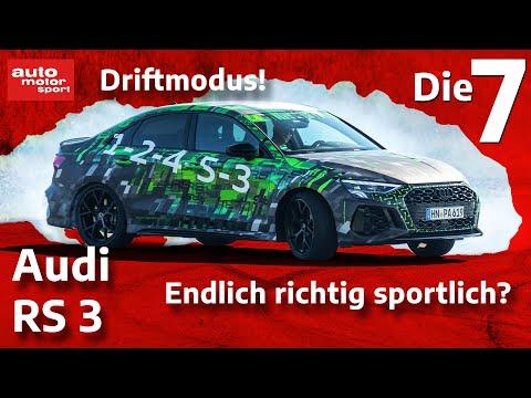 Fünfzylinder, Driftmodus, kein Nachfolger: 7 Fakten zum Audi RS 3 | auto motor und sport