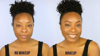 "Makeup for Girls Who HATE Wearing Makeup! | The Most Natural ""No Makeup""  Makeup Tutorial EVER"