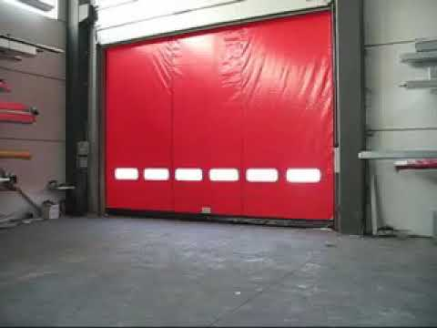self repairing high speed doors
