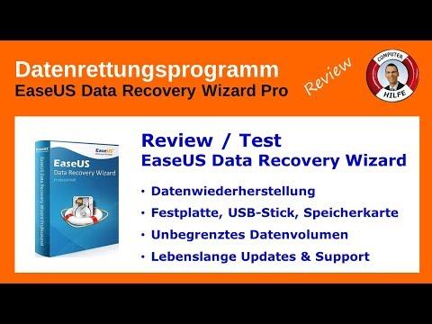 Datenrettungsprogramm EaseUS Data Recovery Wizard Pro Review