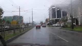 Лихач на дороге узбек