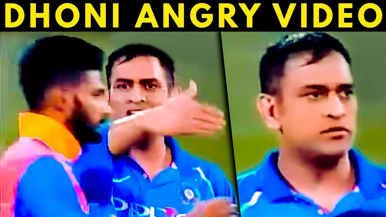 Why MS Dhoni lost his cool with Khaleel Ahmed | India vs Australia | Viral Video